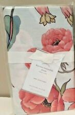 1 NEW Pottery Barn Karina Reversible Floral Hummingbird Pillow Sham EURO