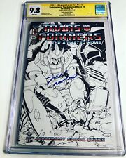 CGC SS 9.8 Transformers The Animated Movie #4 Variant signed by Judd Nelson