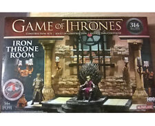 Game Of Thrones Iron Throne Room Construction Set By Todd McFarlane
