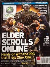 "Official Xbox Magazine ""Elder Scrolls Online"" Issue 153 October 2013"