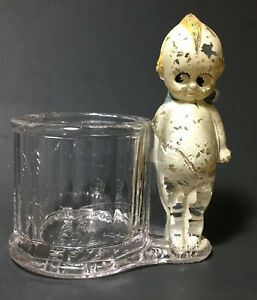 Antique 1900's Kewpie Doll Toothpick Holder Geo Borgfeldt Co N.Y. Serial Nr 2862
