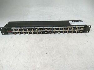 Tascam PB-32R RCA Patch Bay Panel