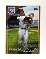 2019 Topps Series 2 Greatest Players Gold #GP-36 Frank Robinson /50