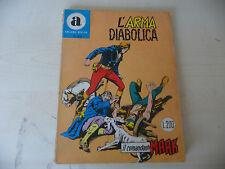 """COMANDANTE MARK/COLLANA ARALDO Nr 33""""L'ARMA BIANCA Lire 200 Maggio 1969-A6"""
