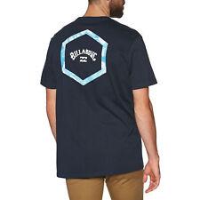 Billabong acceso Camiseta De Manga Corta-Azul Marino Todas Las Tallas