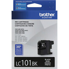 Genuine Brother LC101BK Black ink MFC J875DW J870DW J450DW J285DW LC101 101