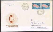 Czechoslovakia 1973 FD Cover. Telephones. 20th Anniversary of Nationwide System