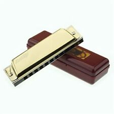 More details for easttop professional 10hole diatonic harmonica key of c blues harp birthday gift