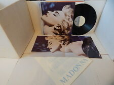 MADONNA TRUE BLUE Poster & Sleeve Complete 1986 Sire NM LP