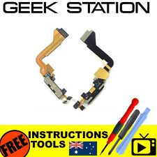 for iphone 4 a1332 usb charge dock port connector microphone flex cable black