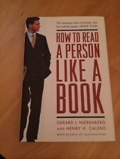 Gerard Nierenberg - How To Read A Person Like A Bo (2002) - Used - Trade Cl