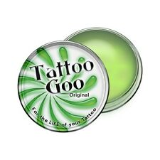 TATTOO GOO AFTERCARE SALVE TIN .75 oz Lotion Care 3/4 oz Ointment USA SELLER