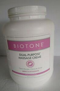 Biotone Dual-Purpose Massage Creme 1 Gallon (128oz) Arnica & Ivy Extracts