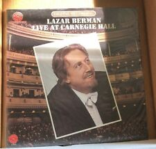 LAZAR BERMAN - LIVE AT CARNEGIE HALL MELODIYA — Mastersound!