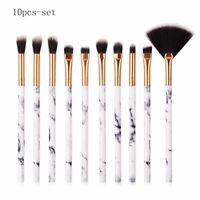 10Pcs Professional Makeup Brushes Set  Foundation Eyeshadow  makeup Pip EP
