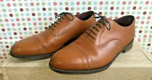 GRENSON ANNIVERSARY OXFORD MEN'S SHOES – TAN – UK 10 – EXCELLENT CONDITION