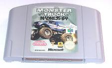 Juego: Monster Truck Madness 64-buen estado/para Nintendo 64