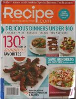 BH&G RECIPE Serving UP SAVINGS Magazine SPECIAL INTEREST Slow Cooker Dinners