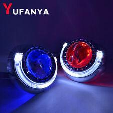 2.5'' H1 Bi xenon HID Projector Lens LED Angel Devil Eyes Headlights Retrofit H4
