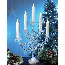 DISNEY congelato ICE Palace stillicidio di fusione Ghiacciolo CANDELABRI accendere lampada da tavolo