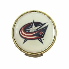 Columbus Blue Jackets Golfers Hat Clip with Golf Ball Marker