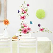 Wandtattoo Blüten Wiesenblumen Blume Sticker dekorativ helle Farben Bunt