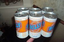 VINTAGE BILLY BEER 1977-1978  EMPTY SIX PACK CANS