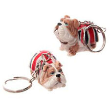 PORTACHIAVI BULLDOG CANE DOG UNITED KINGDOM UK INGHILTERRA KEYCHAIN KEYRING #1