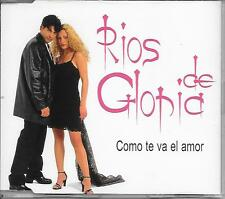 RIOS DE GLORIA - Como te va el amor PROMO CD SINGLE Spanish Europop Latin 2000