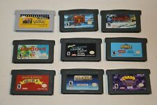 Game Boy Advance Games GBA LOT OF 8 + POKEMON GBA VIDEO