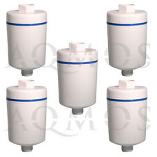 5 x Duschfilter Wasserfilter Badfilter Reisefilter KDF Chlor Dusche Kalkfilter