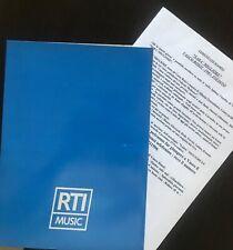 """Vasco Rossi """"SARA' MIGLIORE"""" comunicato stampa promo"""