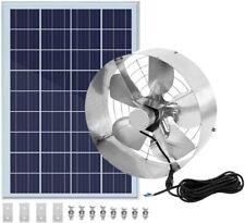 "New listing 65W 3000 Cfm 12.6"" Solar Attic Exhaust Vent Fan Kit & 25W Pv Solar Powered Panel"
