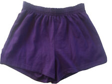 Soffe Womens Low Rise Cheer Shorts Purple NWOT SZ Small