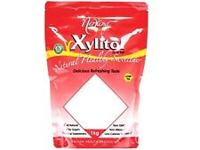 1 x 1kg NIRVANA Xylitol ( in a pouch bag with resealable zip-lock ) Sweetener