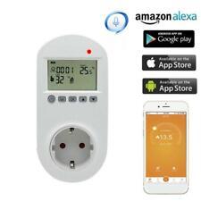 WiFi Plug-in Thermostat Socket Remote Voice Control Floor Temperature Controller