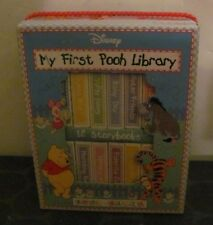 My First Pooh Library lot of 12 Storybooks & Case