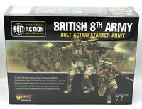 Bolt Action 402611001 British 8th Army (Starter Army) WWII Western Desert Rats