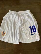 Croatia Soccer Shorts #10 Luka Modric Size Medium
