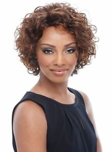 ROSEMARY -  100% Human Hair Wig - Short Curly Full Cap Wig - Janet Collection