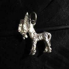 Estate Sterling Silver Vintage Donkey Mule Bracelet Charm Measures 7/8� X 5/8�