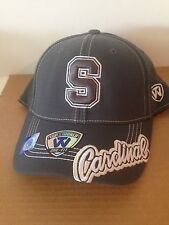 wholesale dealer ea4e9 d51b4 ... low cost stanford cardinal top of the world slate one stretch fit hat  osfm charcoal 26d82