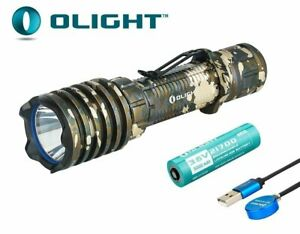 New Olight Warrior X Pro Desert Camouflage USB Charge 2250Lumens LED Flashlight