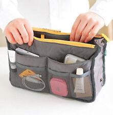 Mujeres Viaje Insertar Bolso de mano de múltiples funciones Bolso organizador de almacenamiento de gran tamaño