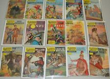 Classics Illustrated Collection (Group of 15) 1950's