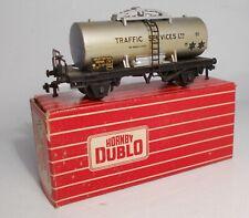 "Hornby Dublo 2/3-rail 00 gauge ""Traffic Services"" Tank Wagon (4679)"