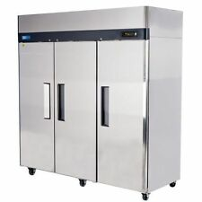 3 Door Commercial Freezer Stainless