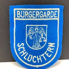 bc873e907bfe Burgergarde Schluchtern patch vintage masonic angel sword scale law  freemasonry