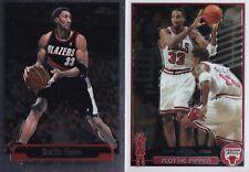 2 Cards - Scottie Pippen - 2003-04 Topps Chrome #49 & 2000-01 Chrome #230