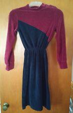000 Sears Jr Bazaar Star Trek Look Dress Size 9 Usa Made 80/20 Cotton Poly